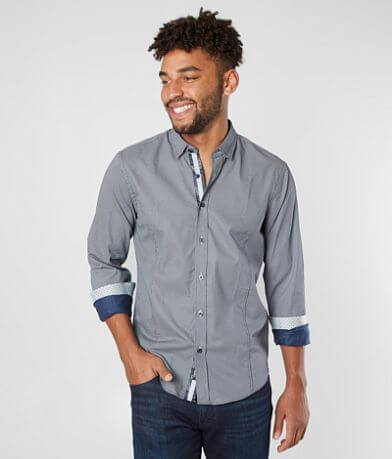 Eight X Polka Dot Woven Shirt