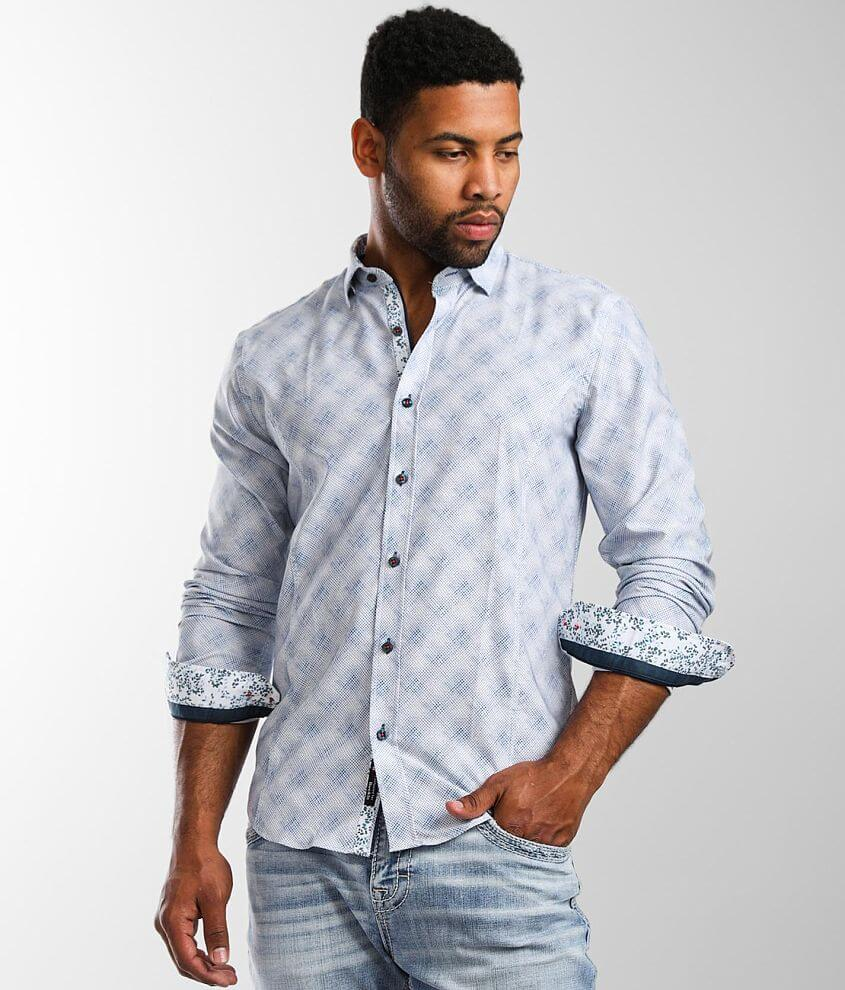Eight X Printed Stretch Shirt front view