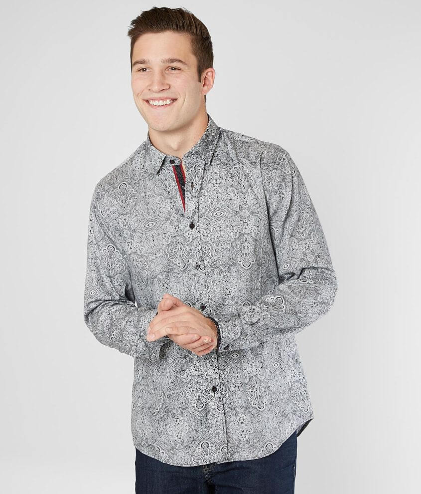 Eight X Medallion Shirt front view