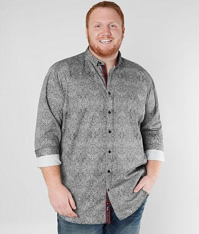 Eight X Medallion Shirt - Big & Tall
