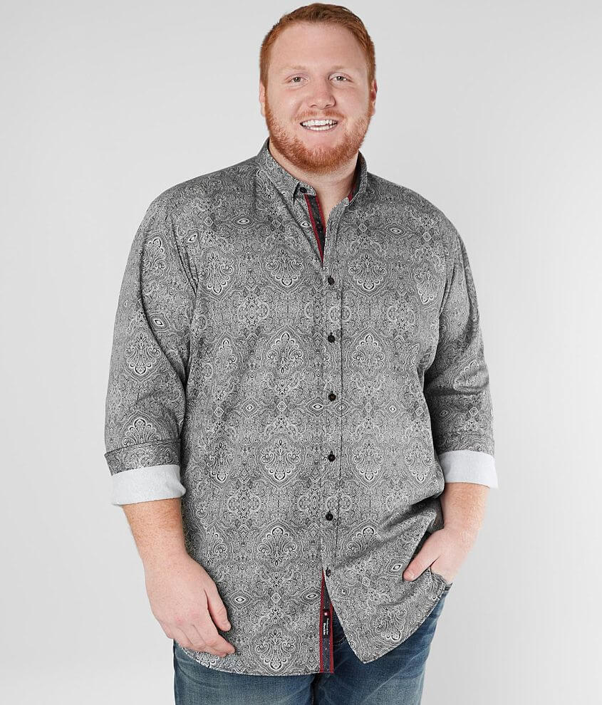 where can i buy perfect quality select for official Eight X Medallion Shirt - Big & Tall - Men's Shirts in Black ...