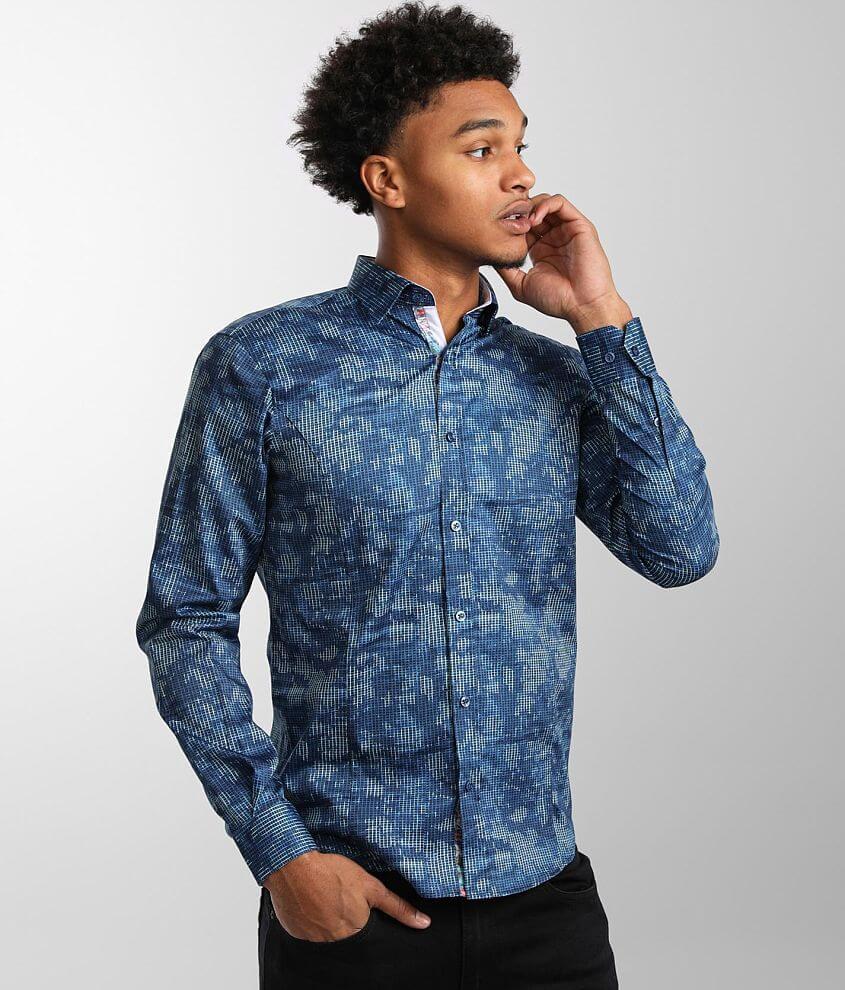 Eight X Tie Dye Shirt front view