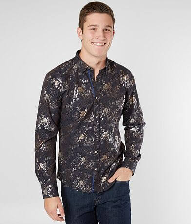 Eight X Foiled Floral Shirt