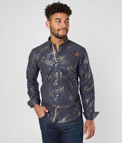 Eight X Iridescent Floral Shirt