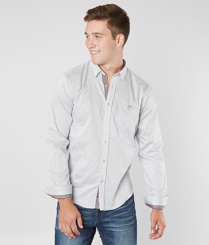 Eight X Polka Dot Shirt front view