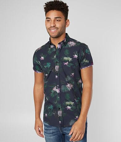 Eight X Hawaiian Floral Shirt