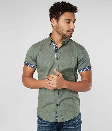 Eight X Printed Stretch Shirt