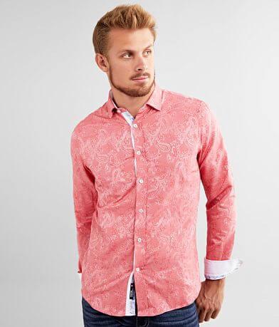 Eight X Paisley Jacquard Shirt