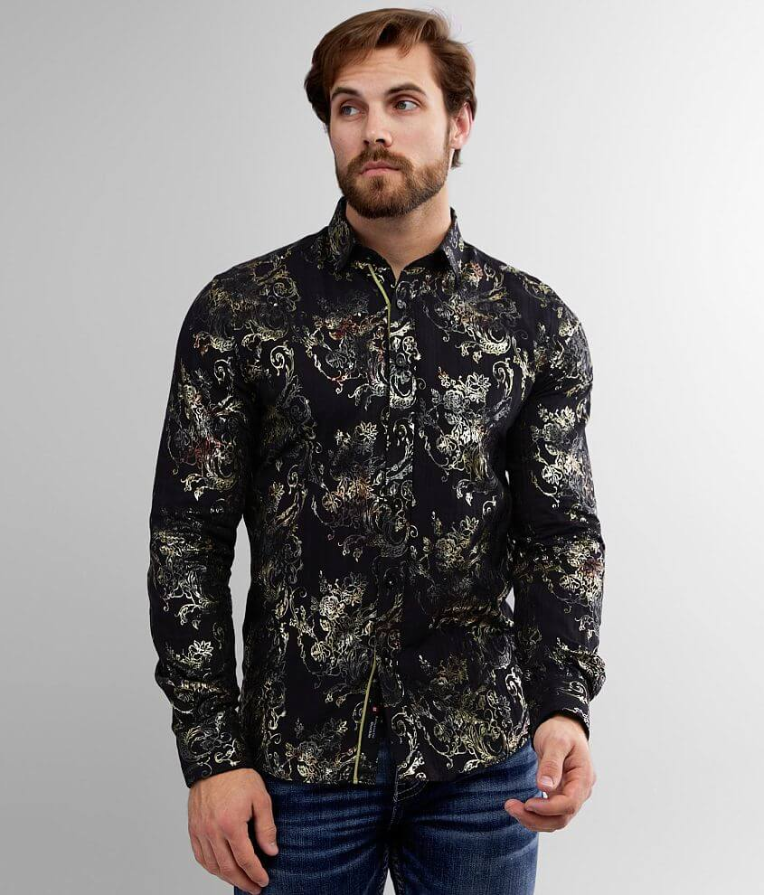 Eight X Floral Shirt front view