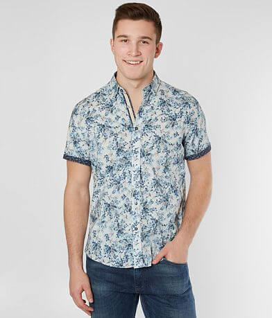 Eight X Floral Stretch Shirt