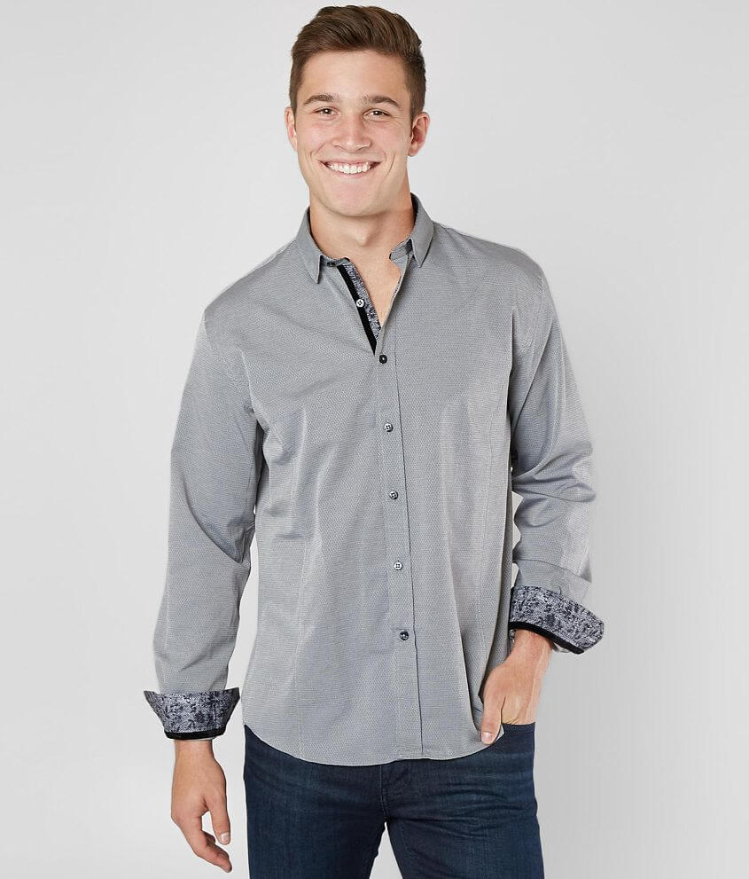 Eight X Printed Shirt front view