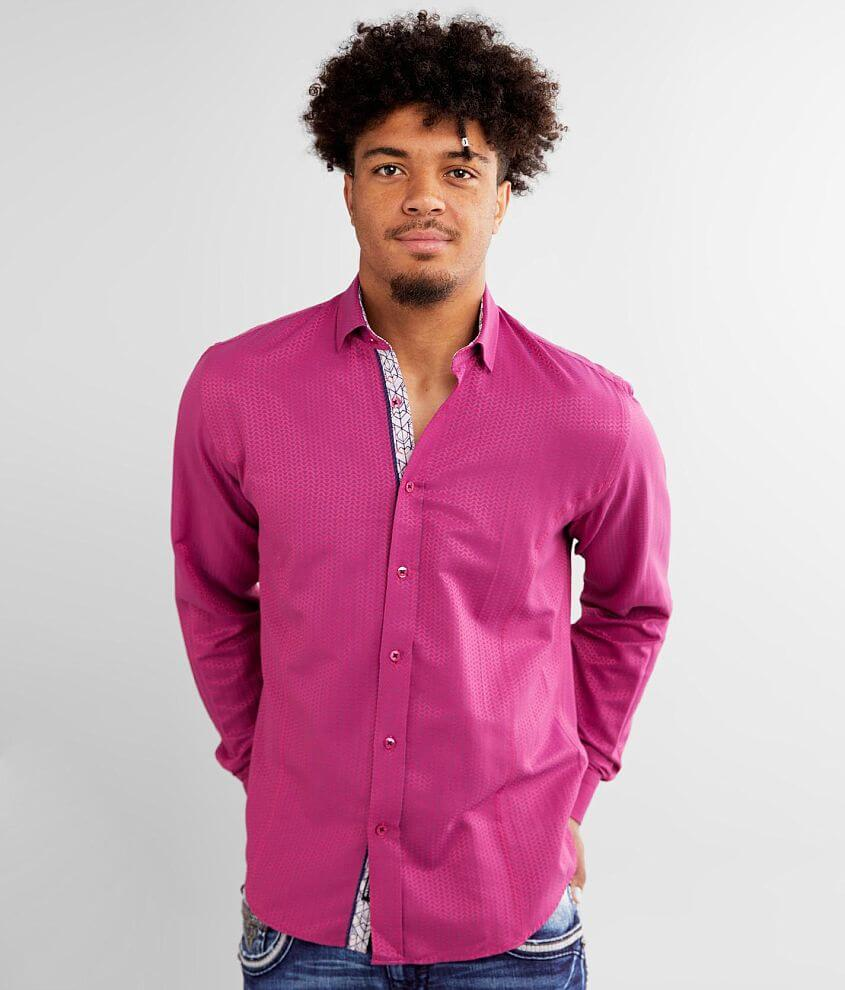 Eight X Triangle Jacquard Shirt front view