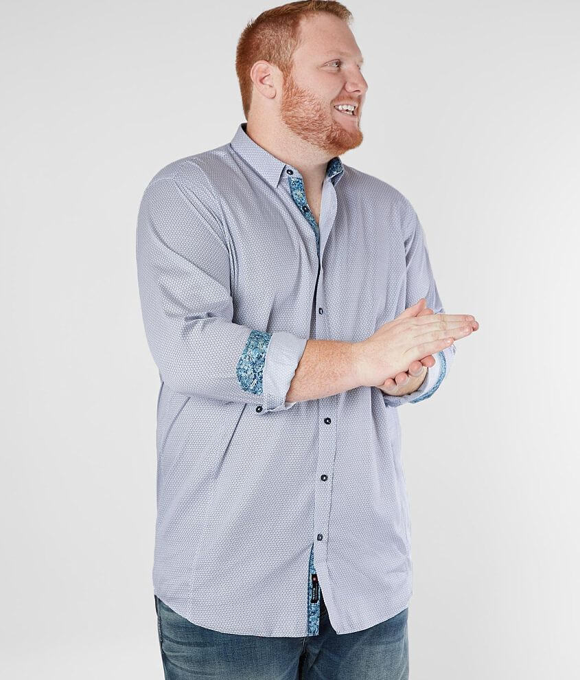 Eight X Printed Shirt - Big & Tall front view