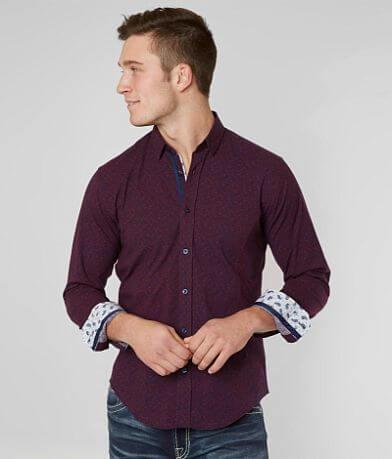 Eight X Printed Stretch Shirt