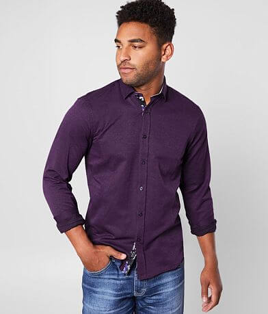 Eight X Medallion Jacquard Shirt