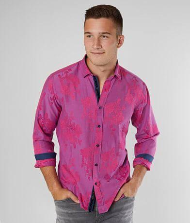 Eight X Floral Jacquard Shirt