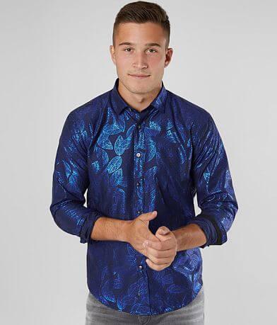 Eight X Foiled Leaf Shirt