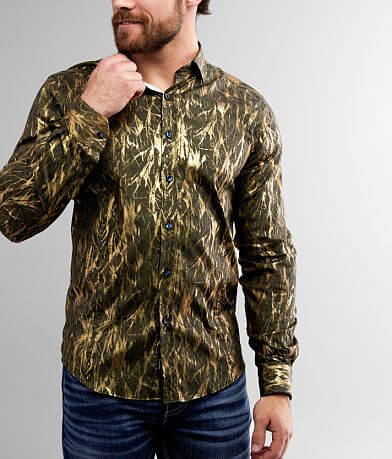 Eight X Metallic Stretch Shirt