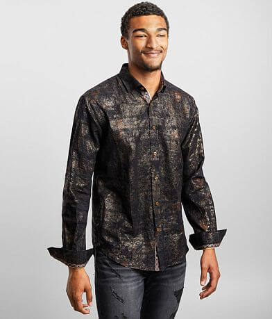 Eight X Woven Metallic Shirt
