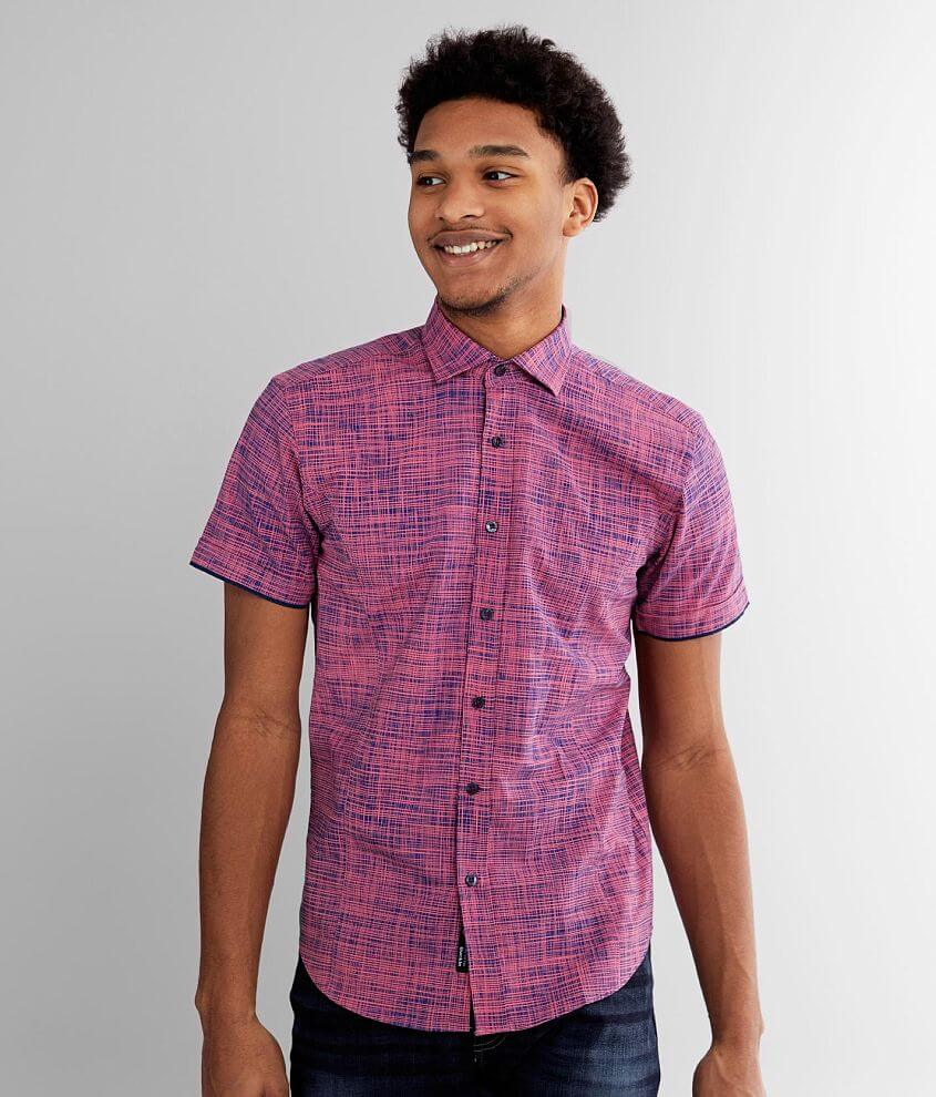 Eight X Crosshatch Shirt front view