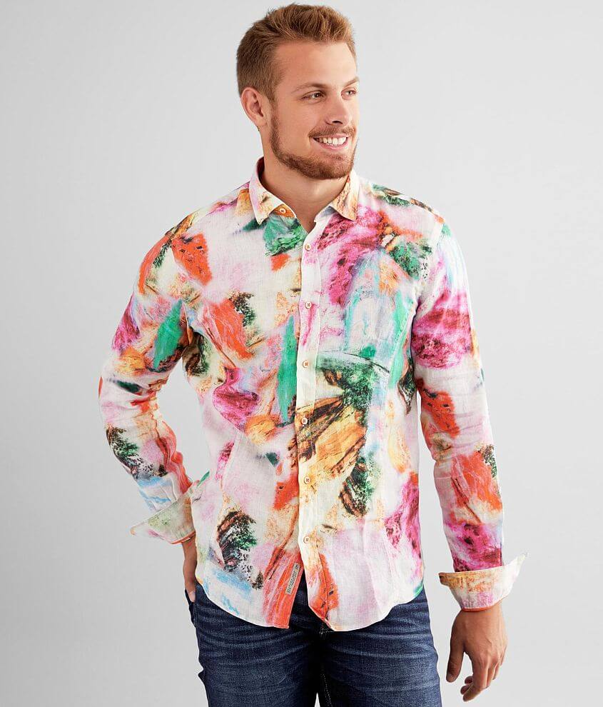 Eight X Linen Shirt front view