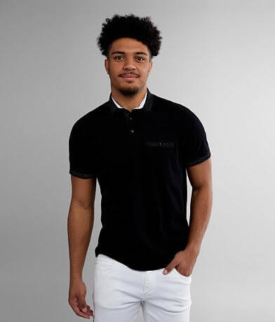 Eight X Solid Stretch Polo