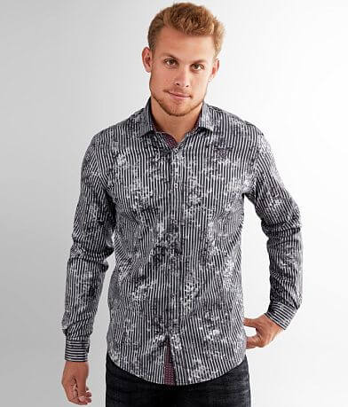 Eight X Sheen Floral Stretch Shirt