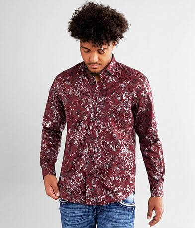 Eight X Paisley & Foil Shirt