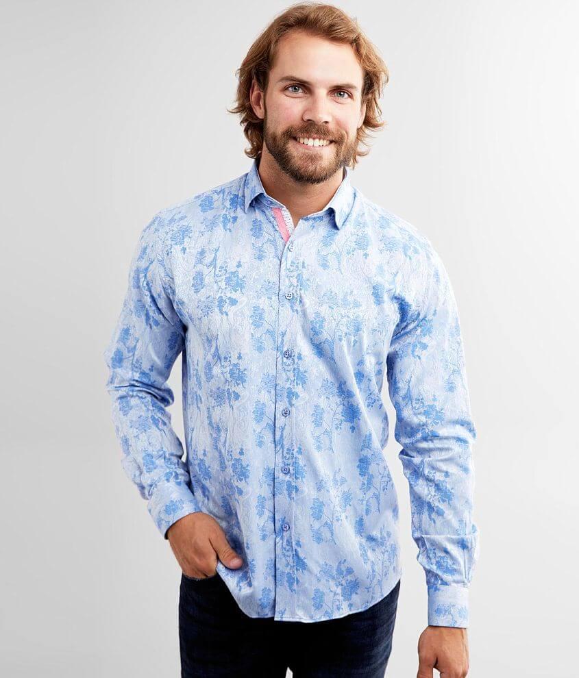 Eight X Sheen Jacquard Shirt front view