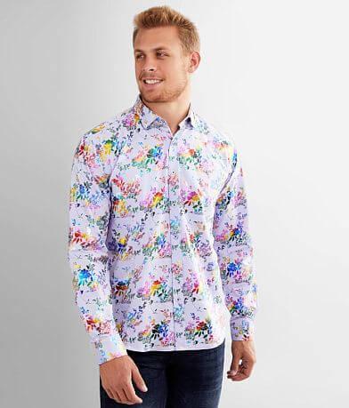 Eight X Foiled Rainbow Floral Shirt