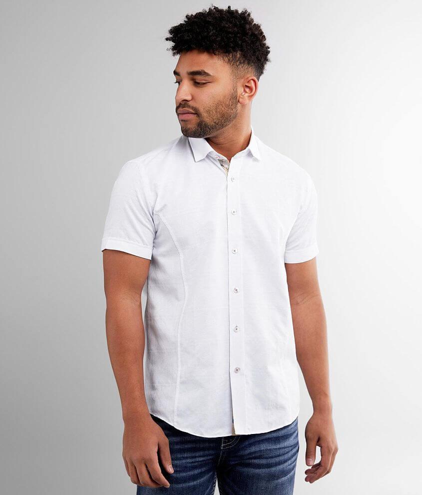 Eight X Textured Shirt front view