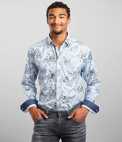 Eight X Floral Print Shirt