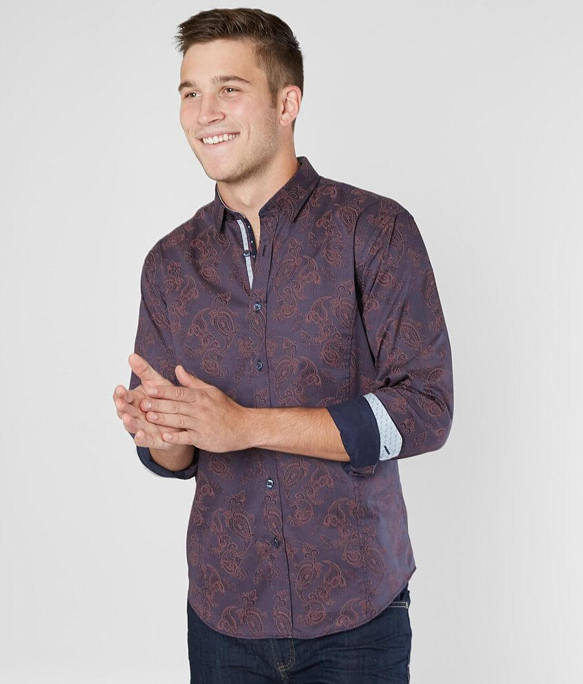 Eight X Paisley Shirt front view