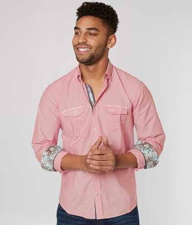 Eight X Pinstripe Shirt