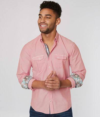 Eight X Pinstripe Shirt