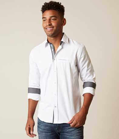 Eight X Textured Stretch Shirt