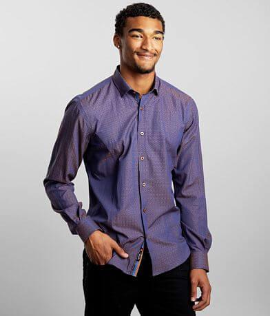 Eight X Iridescent Jacquard Shirt