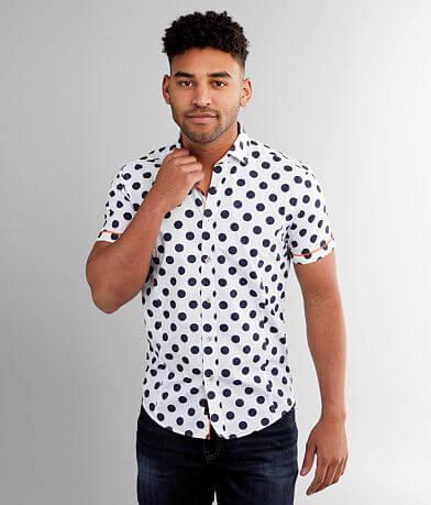 Eight X Polka Dot Print Shirt