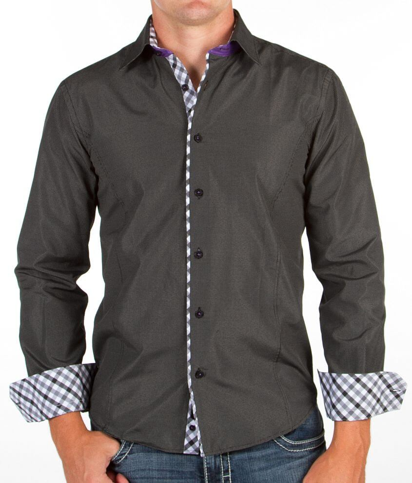 Eight X Checkered Shirt front view