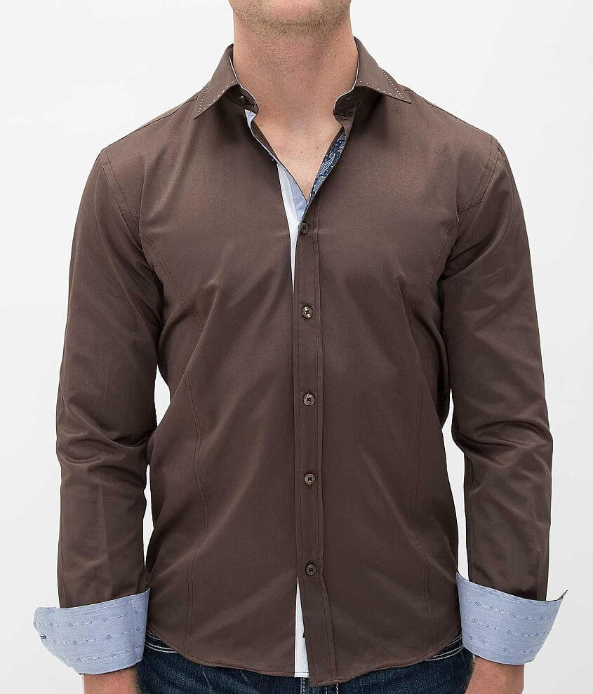Eight X Solid Shirt front view