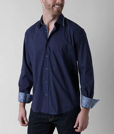 Eight X Textured Stretch Shirt