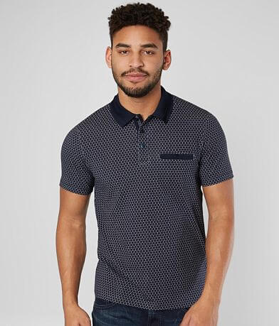 Eight X Printed Stretch Polo