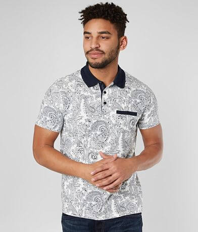 Eight X Paisley Stretch Polo