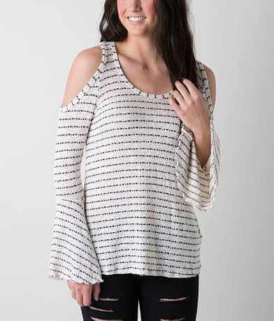 Elan Open Weave Sweater