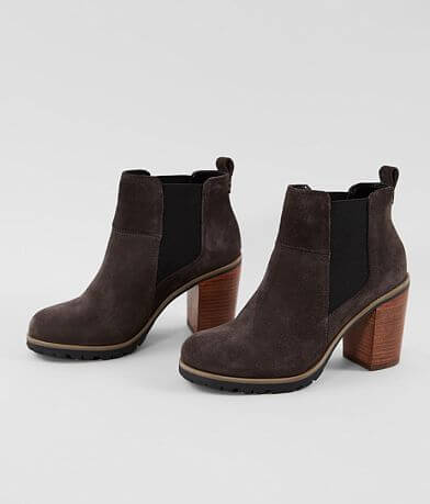 Crevo Alicia Chelsea Leather Heeled Ankle Boot
