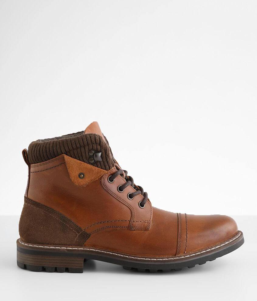 Crevo Soren Leather Boot front view