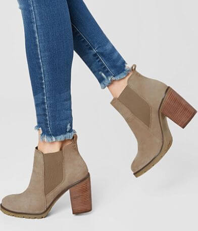 Crevo Alicia Leather Hiker Ankle Boot