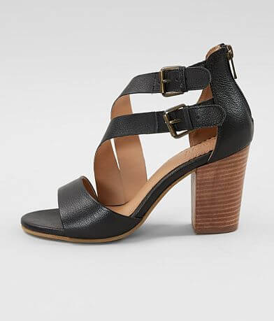 Crevo Tallulah Leather Heeled Sandal