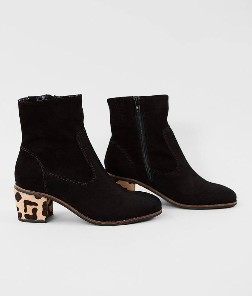 Crevo Jade Suede Heeled Ankle Boot front view