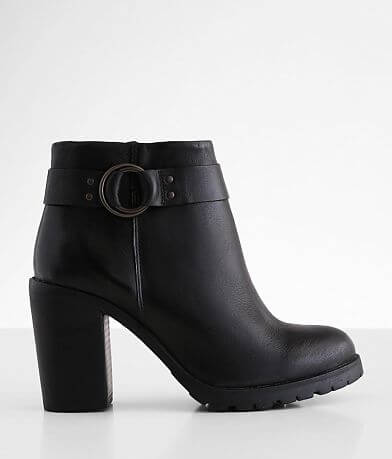 Crevo Kathryn Leather Heeled Ankle Boot
